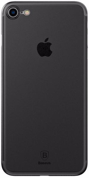 Baseus Wing Case (WIAPIPH7-E01) - чехол-накладка для iPhone 7 (Transparent Black)