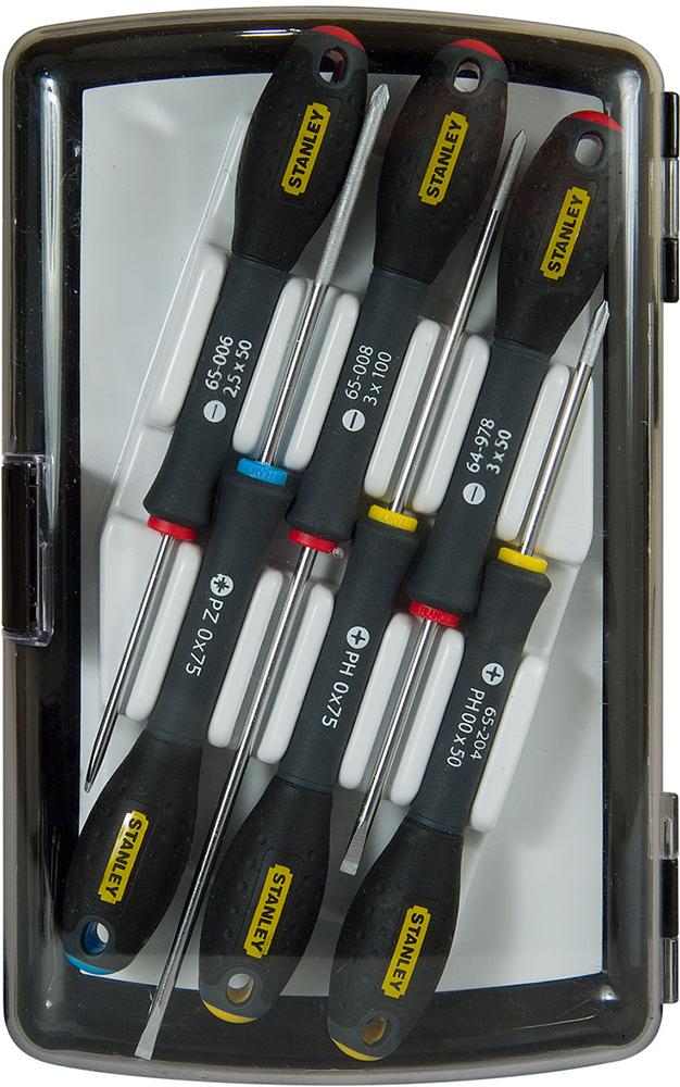 Stanley FatMax (0-65-492) - набор отверток для точной механики 6 шт. (Black)