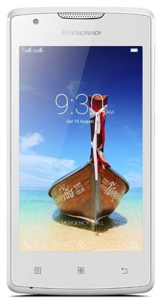 Lenovo A1000 8Gb 3G Lenovo Vibe Shot 32Gb LTE Dual Sim (PA1R0007RU) - смартфон (White)