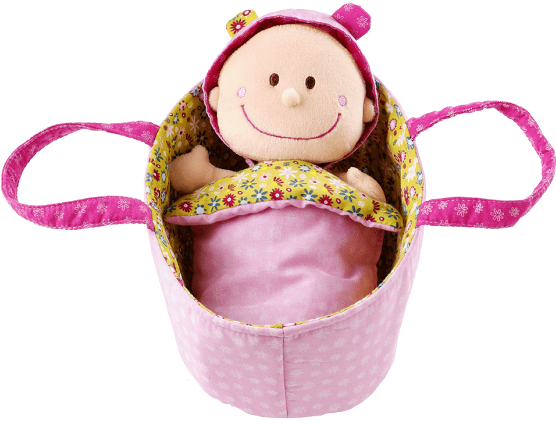 Lilliputiens Мягкая куколка в переноске (86063)