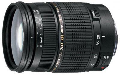 Tamron SP AF 28-75mm f/2.8 XR DI LD Aspherical - объектив для фотоаппаратов Nikon (Black)
