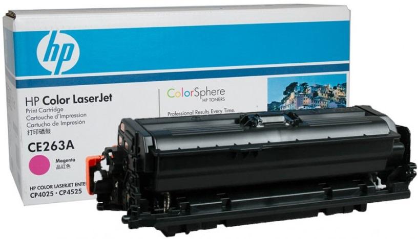 HP CE263A - картридж для принтеров HP Color LaserJet CP4025/CP4525 (Magenta)