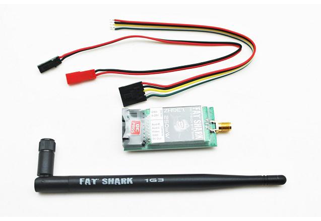 FatShark 1.3Ghz 250mW 8ch TX - модуль передатчика (Black)
