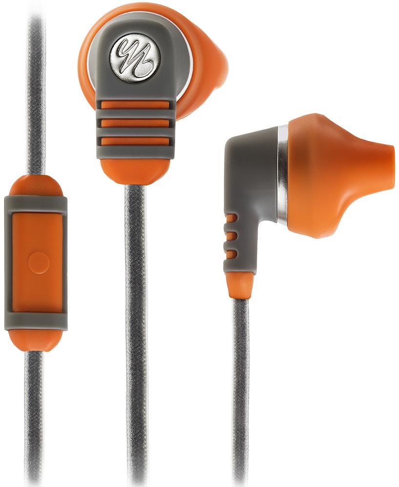 JBL Yurbuds Venture Talk - спортивные наушники-вкладыши (Grey/Orange)
