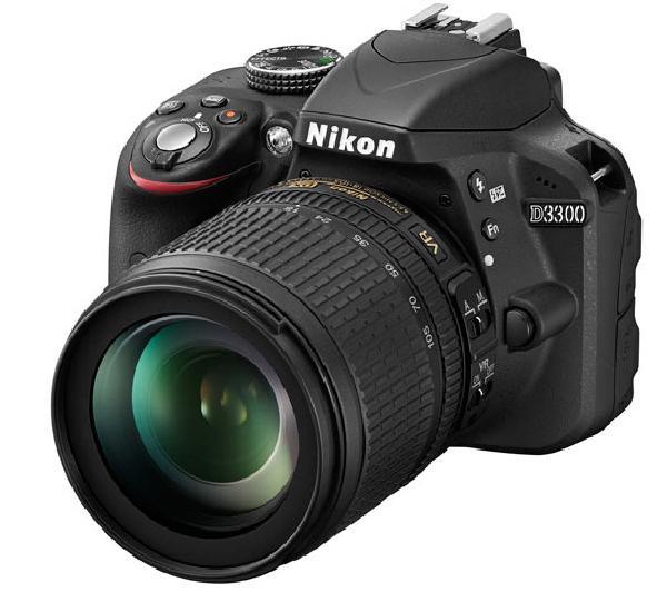 Nikon D3300 - зеркальный фотоаппарат (Black) + объектив 18-105mm VR