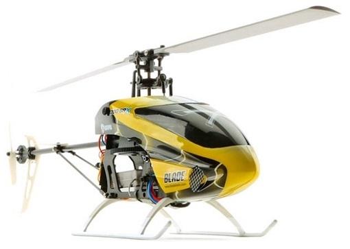 Blade 200 SR X (BLH2000) - радиоуправляемый вертолет (Yellow/Black)