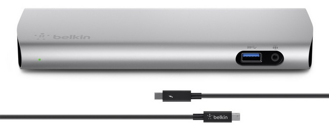 belkin Расширитель портов ввода-вывода Belkin Thunderbolt 2 Express Dock HD with Cable (F4U085vf) F4U085vf