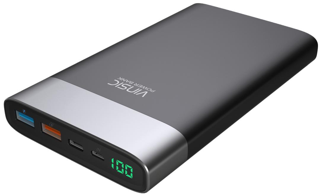 Vinsic External Battery 20000mAh (VSPB303) - внешний аккумулятор (Black)