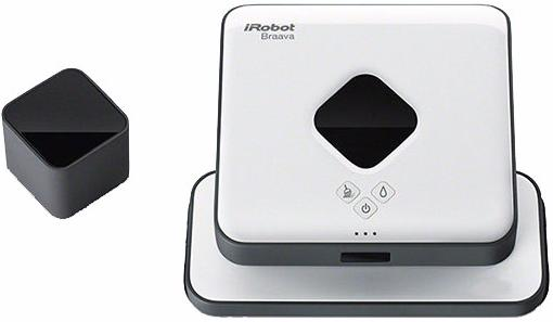 Робот-пылесос iRobot Braava 390T с турбозарядной базой (White)