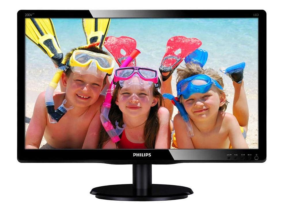 """Монитор Philips 200V4LSB/62 19.5"""" (Black)"""