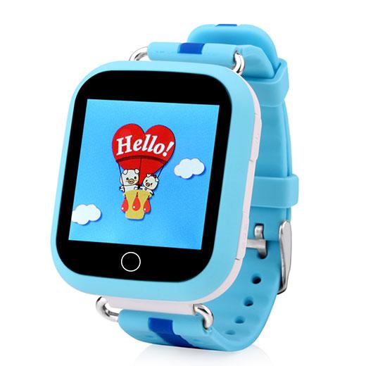 Кнопка Жизни J118 (9180129) - часы-телефон с GPS (Blue)