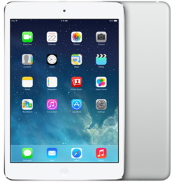 Планшет Apple iPad mini Retina 16GB Wi-Fi + LTE Silver (ME814RU/A)