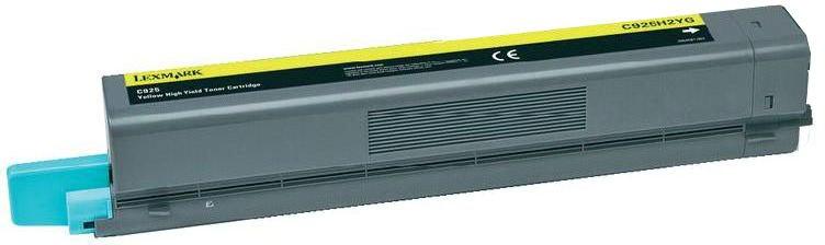 Lexmark C925H2YG - картридж для принтеров Lexmark C925 (Yellow)