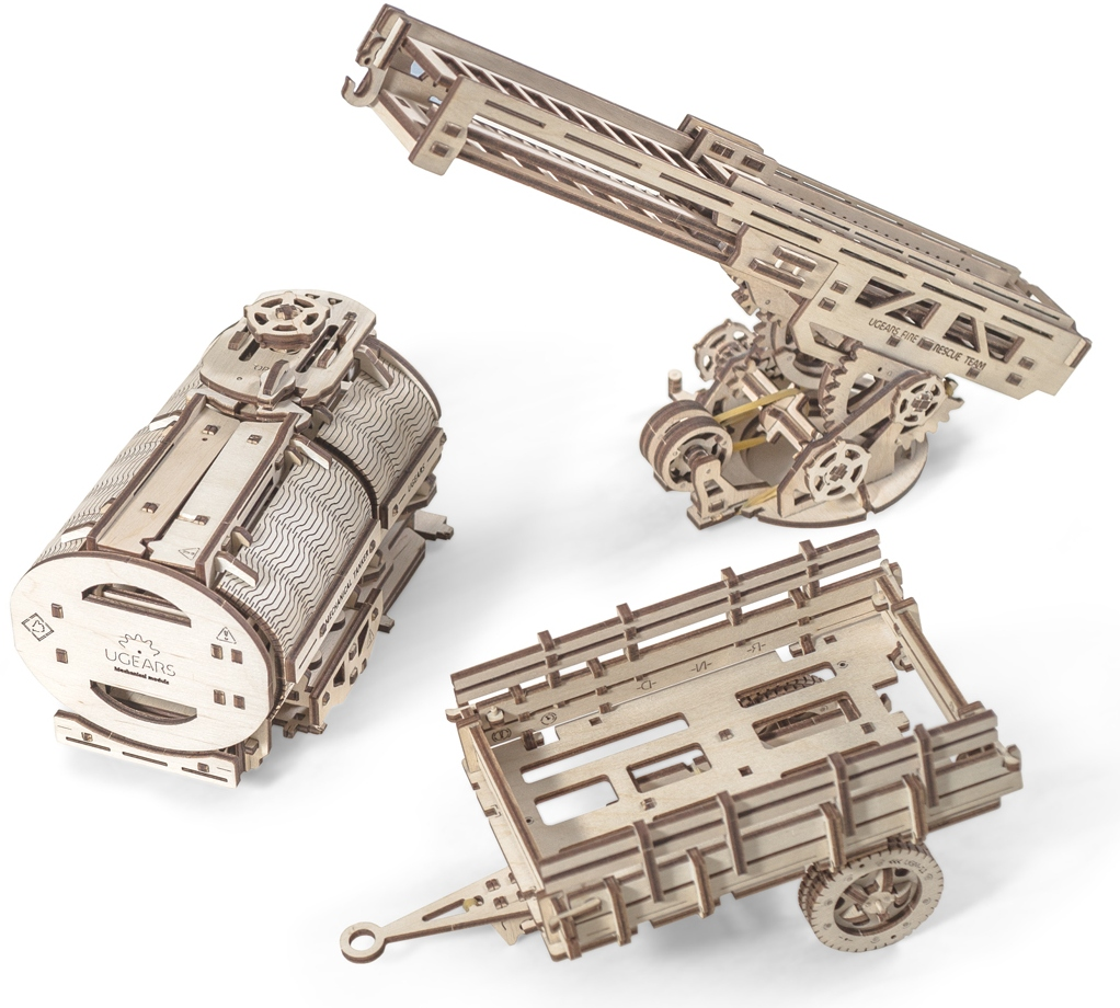 Ugears UGM-11 (70019) - дополнение к грузовику
