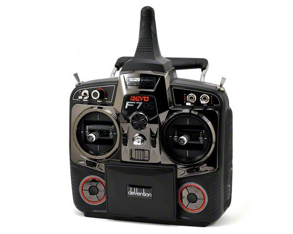 DevoПередатчики (пульты) для коптеров<br>Система радиоуправления<br>