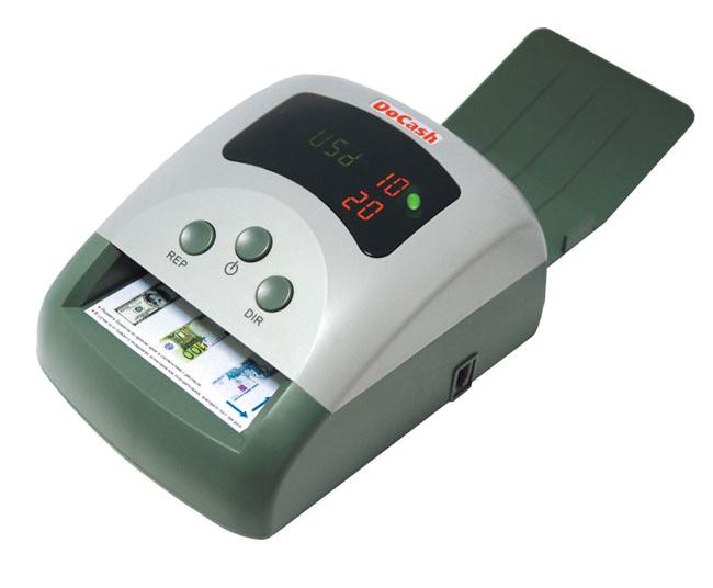 DoCash 410 RUB с АКБ (9279) - автоматический детектор банкнот (Green)