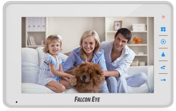 Falcon Eye (FE-70C4) - цветной видеодомофон (White)