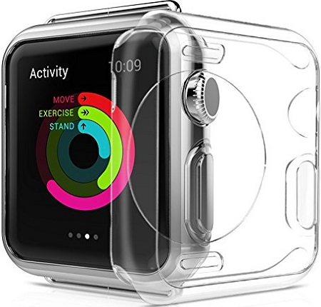 Transparent Crystal Clear CaseАксессуары к Apple Watch<br>Чехол<br>