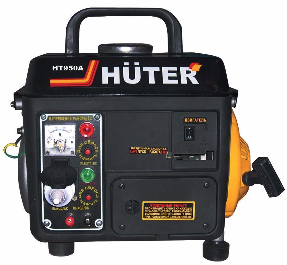 Huter HT950A - электрогенератор (Black)Генераторы напряжения<br>Электрогенератор<br>