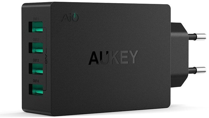 Aukey PA-U36 - сетевое зарядное устройство (Black)