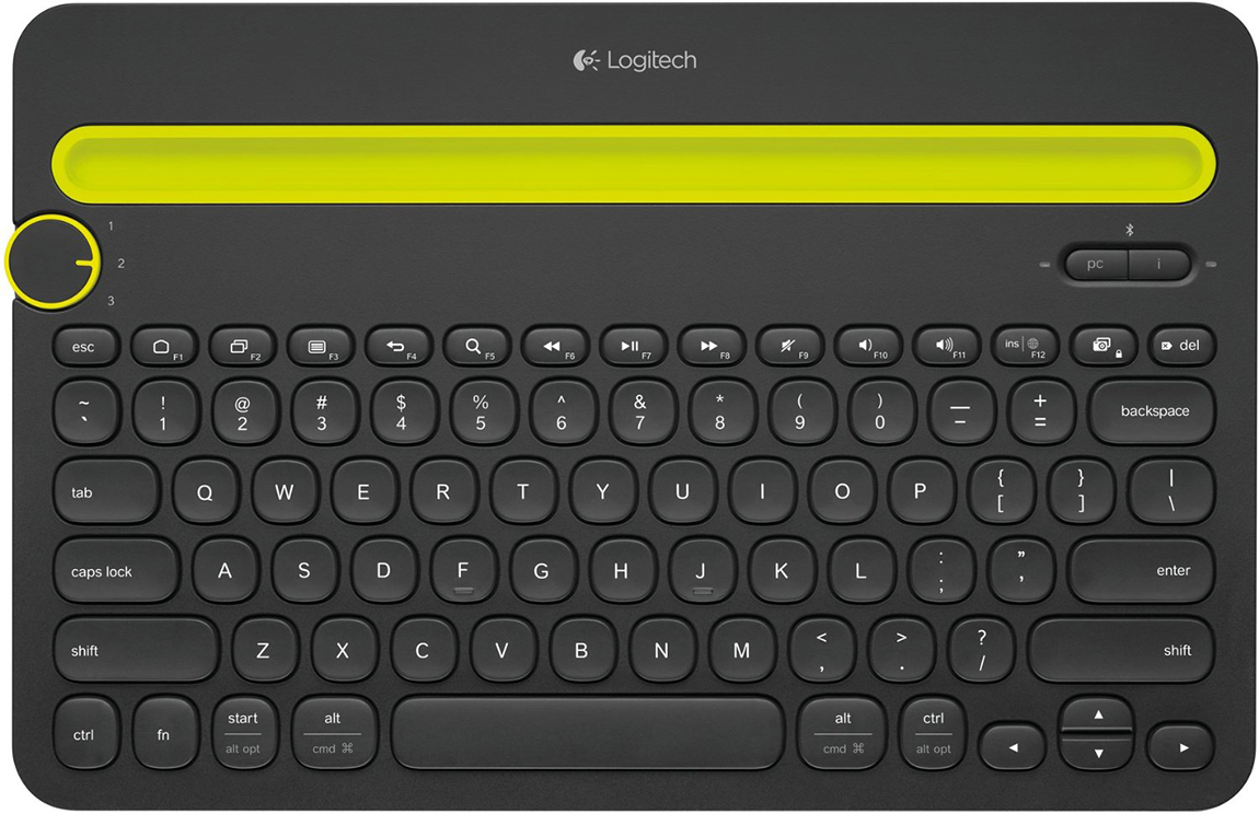 Bluetooth Multi-Device Keyboard
