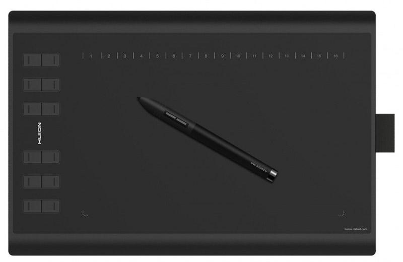 Графический планшет Huion 1060PLUS (Black)