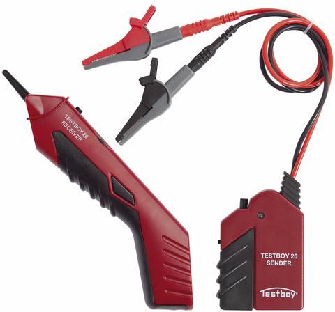 Testboy 26 - прибор обнаружения скрытой проводки (Red/Black)