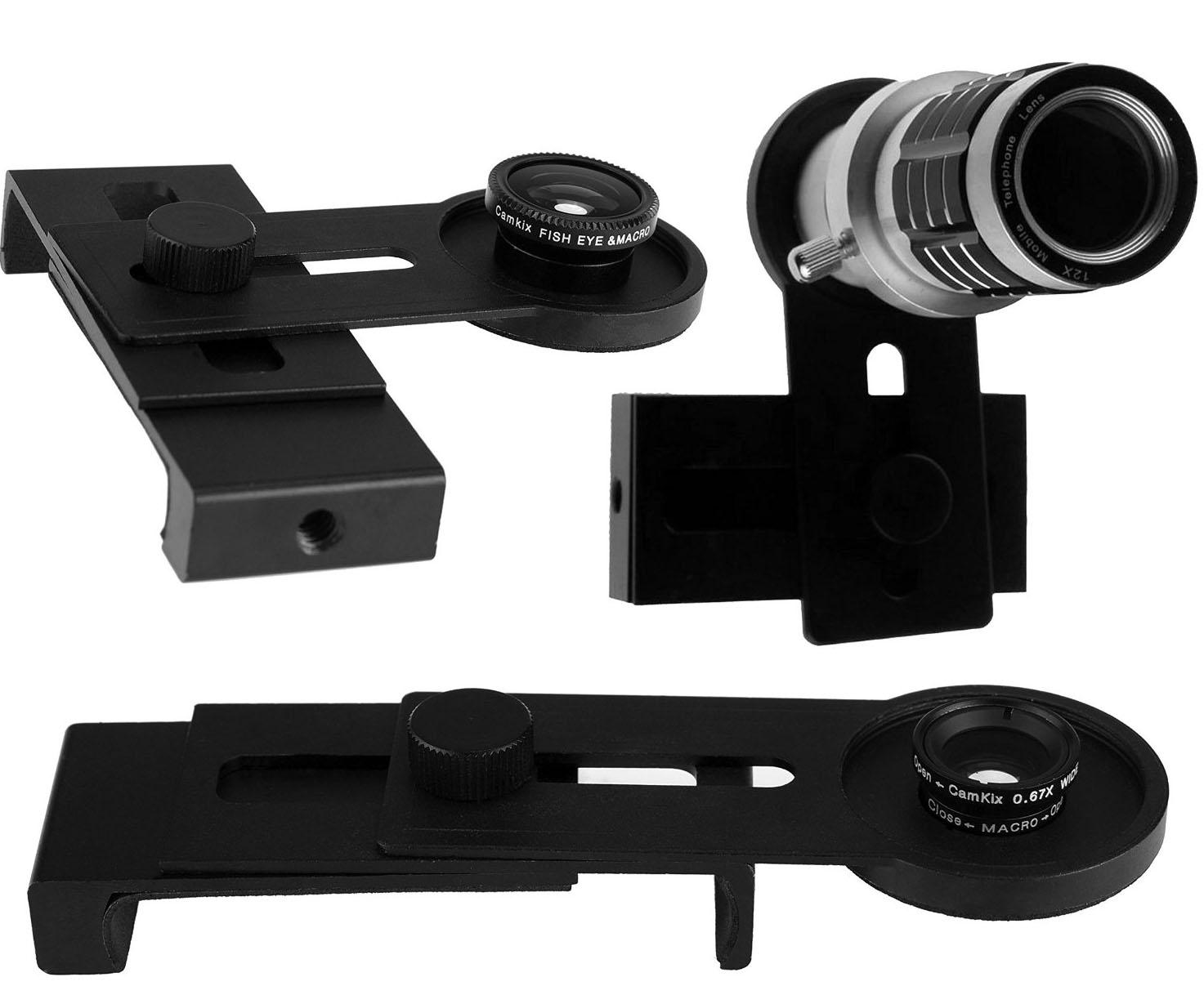 Lens & Phone Holder