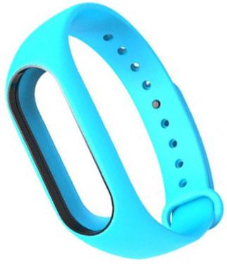 Сменный силиконовый ремешок для Хiaomi Mi Band 2 (Blue)