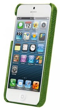 Vetti Craft Leather Snap Cover (IPO5LES1110105) - чехол для iPhone 5/5S/SE (Green) от iCover