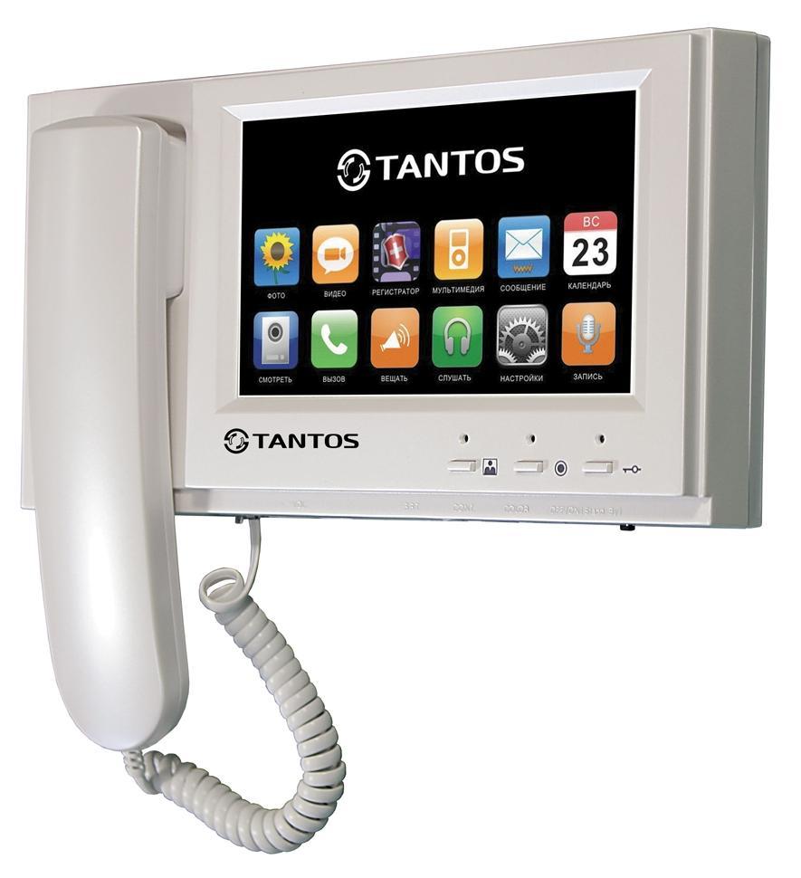 Tantos Loki+ (XL или Vizit) - видеодомофон (White) LOKI + (Vizit или XL)