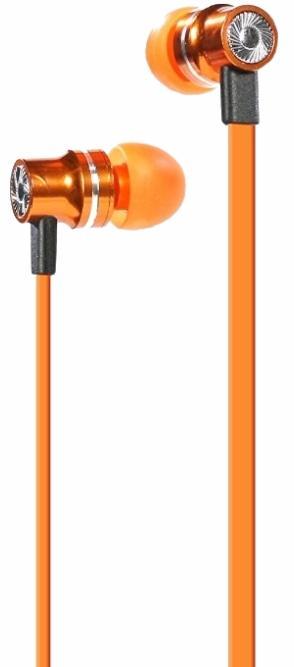Pump Audio Earphones - внутриканальные наушники (Orange)