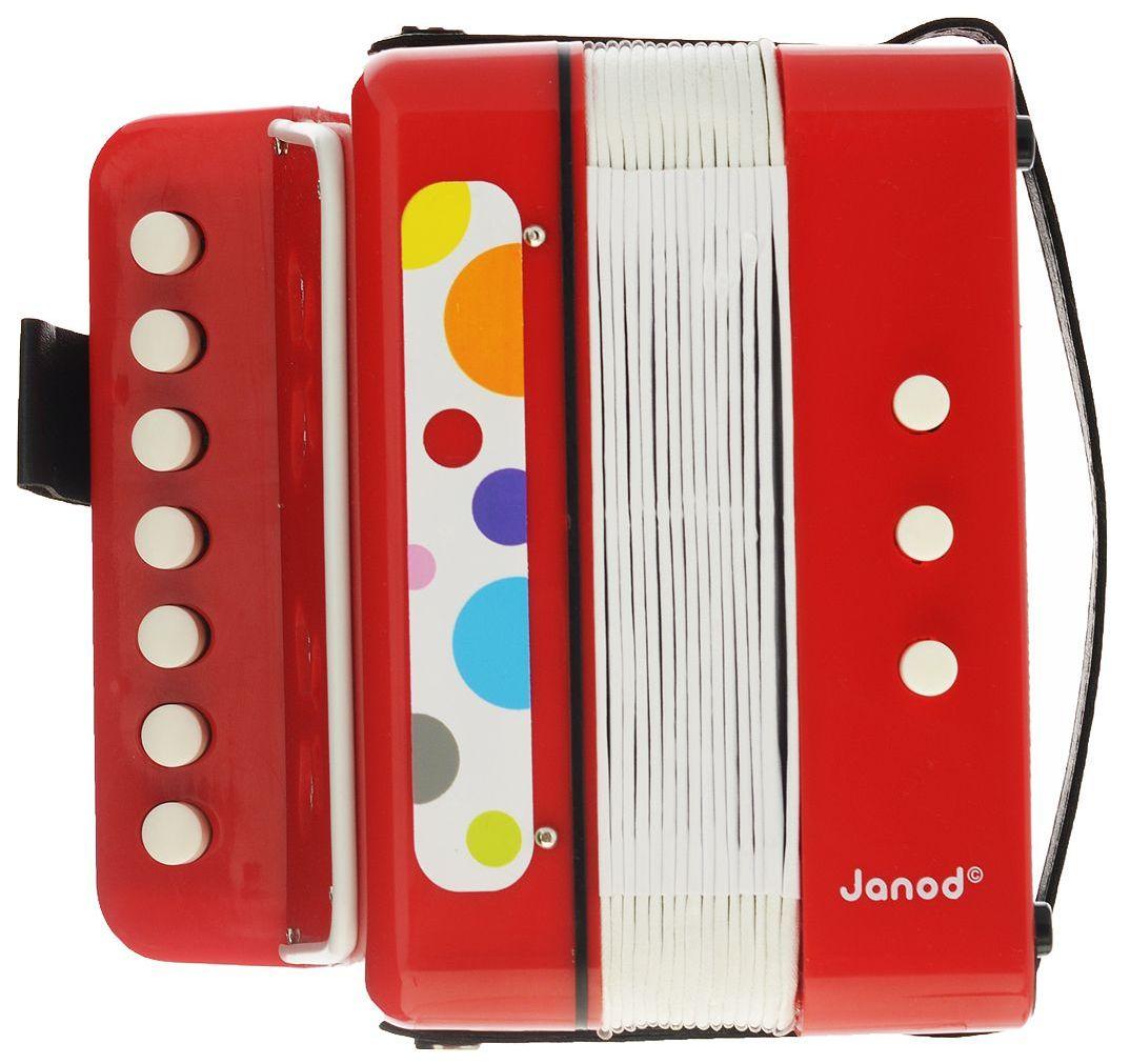 Janod Аккордеон (J07620) - детский музыкальный инструмент