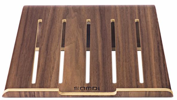 Подставка Samdi Vogue для MacBook (Dark Brown)