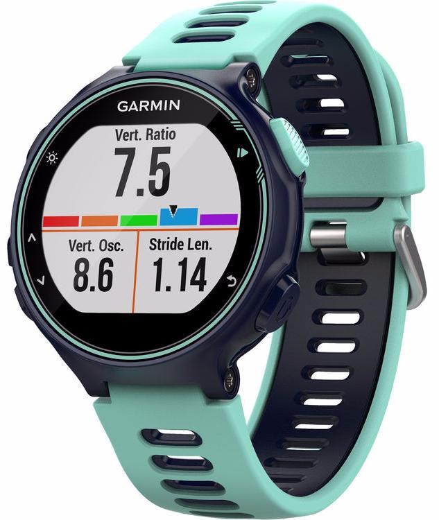 Спортивные часы Garmin Forerunner 735XT Run Bundle 010-01614-16 (Midnight Blue/Frost Blue)
