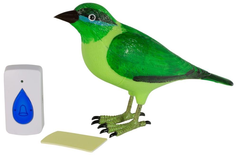 """Tantos Звонок """"Птичка"""" - беспроводной звонок (Green)"""