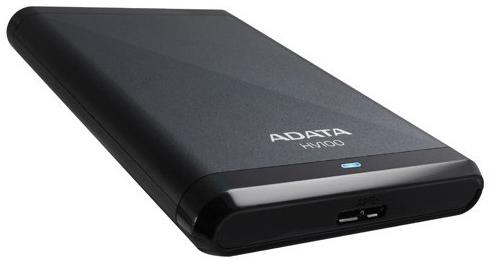 "Adata HV100 2.5"", 2Tb, USB 3.0 (AHV100-2TU3-CBK) - внешний жесткий диск (Black)"