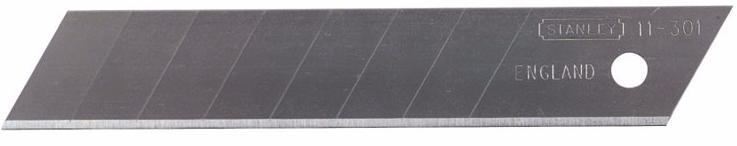Stanley 1-11-0301 - лезвие с отламывающимися сегментами 18 мм