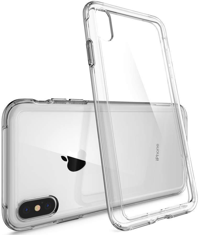 Чехол Spigen Crystal Hybrid (063CS25141) для Apple iPhone XS/X (Dark Crystal)