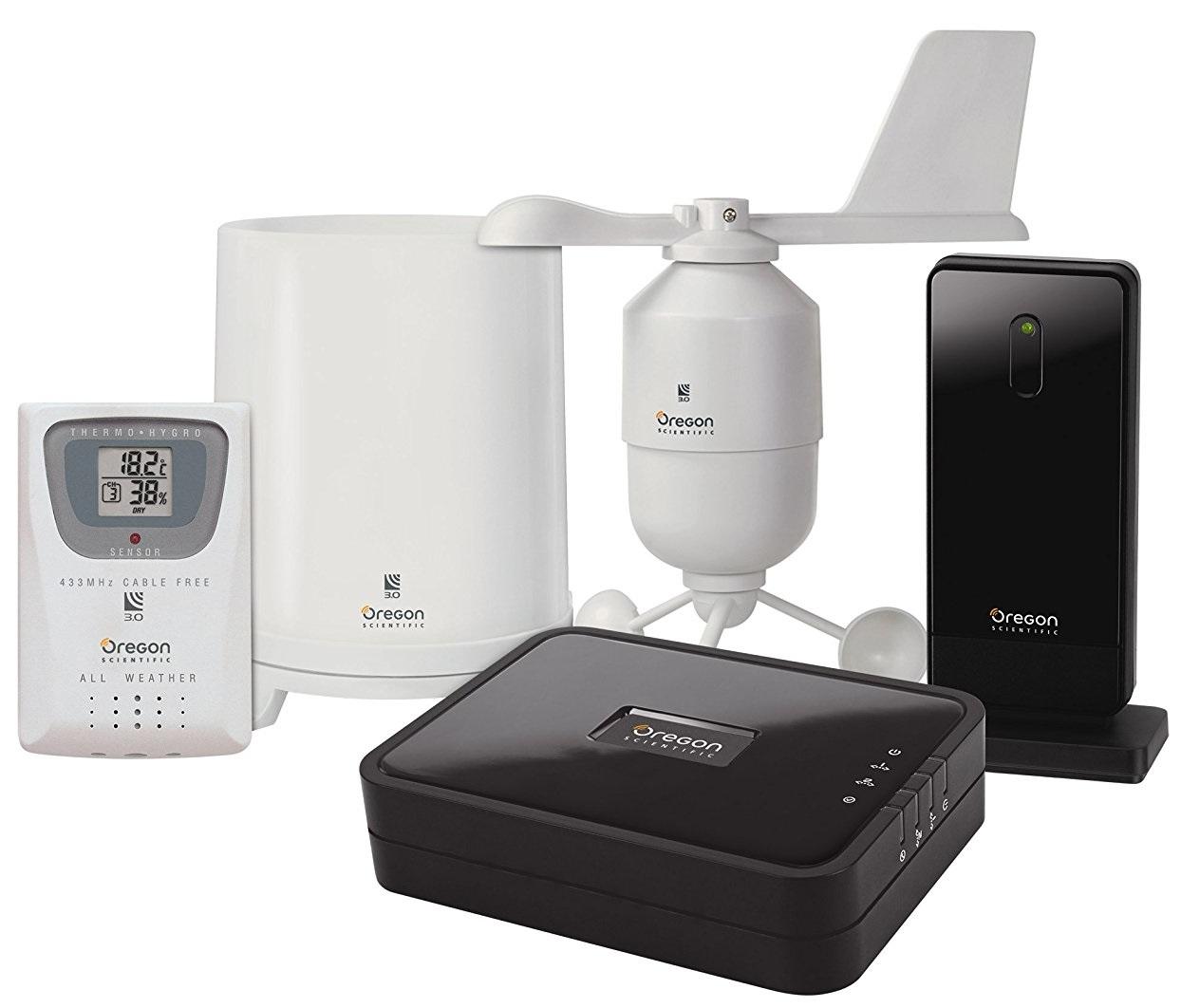 Oregon Scientific LW301 - комплект погодных датчиков с передачей данных в Интернет
