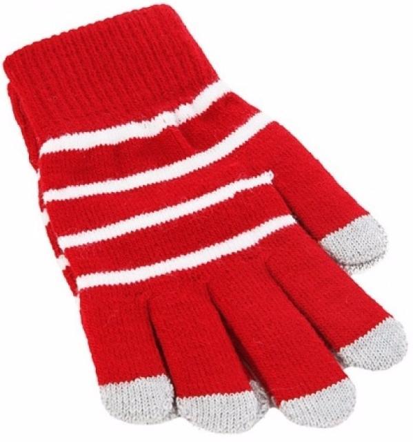 iCasemore Gloves (iCM_WhS-red) - трикотажные перчатки (Red) icasemore gloves icm smp blk кашемировые перчатки black