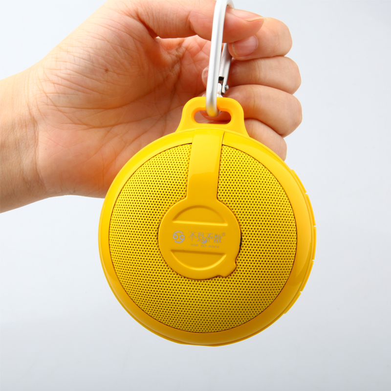 Портативный динамик GO BV210 Bluetooth wireless Portable Speaker Subwoofer (yellow)