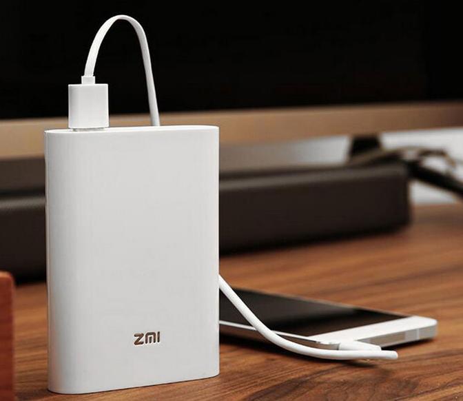 Внешний аккумулятор Xiaomi ZMi 7800 mAh (MF855) с 4G-модемом (White)