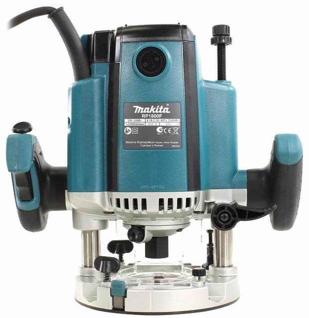 Makita RP1800F - фрезер (Blue) фрезер makita bpj140z
