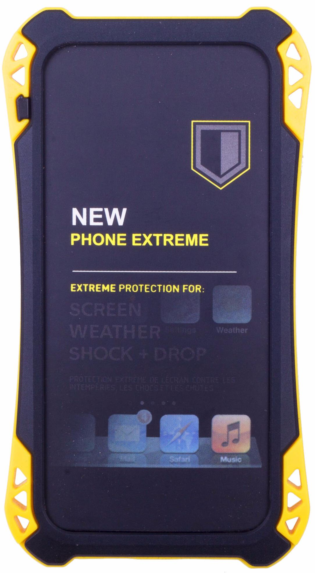 Amira Phone Extreme - защитный чехол для iPhone 6/6S (Black/Yellow)