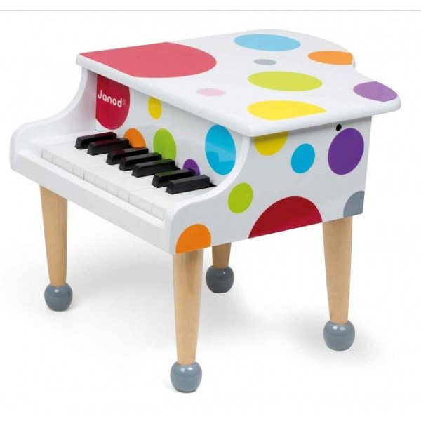 Janod Рояль (J07627) - музыкальная игрушка (White)