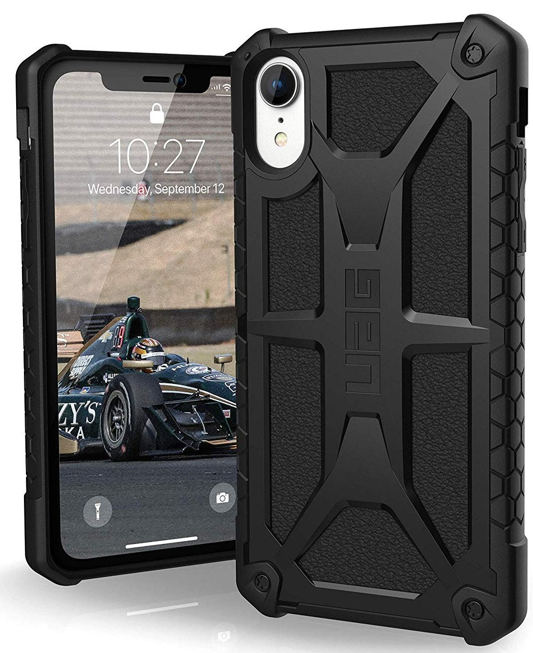 Чехол Urban Armor Gear Monarch (111091114040) для iPhone XR (Black)