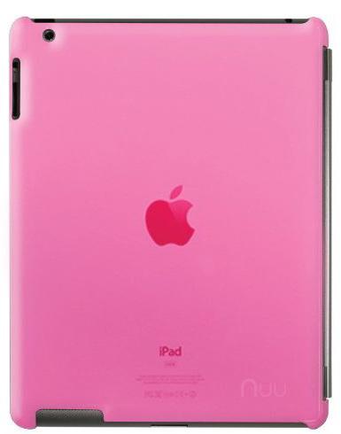 NUU BaseCase - чехол для iPad 2/iPad 3/iPad 4 (Rosa)