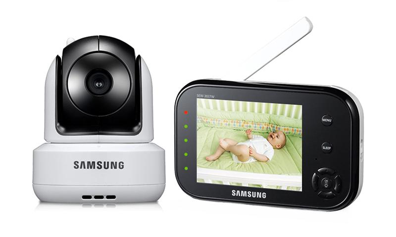 Samsung SEW-3037WP - видеоняня (Black)Видеоняни<br>Видеоняня<br>