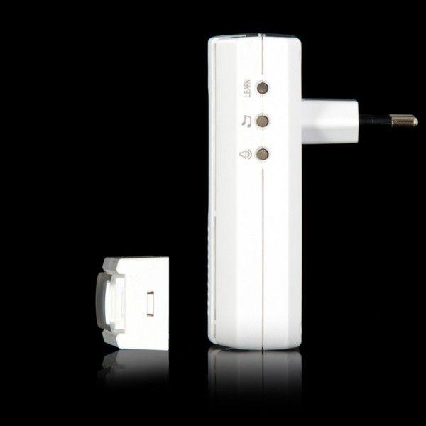COCO ACDB-6500AC - беспроводной звонок, 7 мелодий, 4 уровня громкости